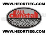 Paul Dunstall Sport Tank and Fairing Transfer Decal DDUN3-3
